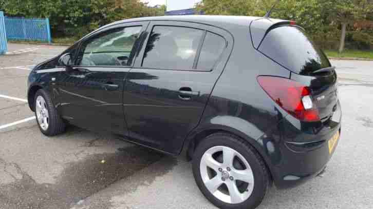 2014 Vauxhall corsa sxi1.4 low mileage petrol, not diesel, fiesta metallic black