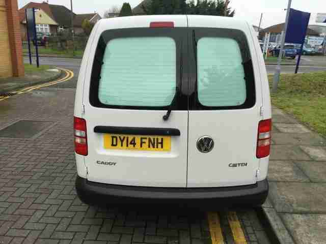 2014 Volkswagen Caddy 1.6TDI 102PS C20 Startline Panel Van 1598cc Manual Panel V