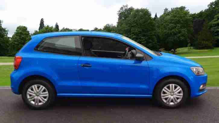 2014 Volkswagen Polo 1.0 S 3dr Manual Petrol Hatchback