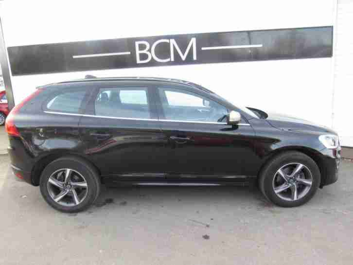 2014 Volvo XC60 2.0 D4 R-Design 5dr Diesel black Manual