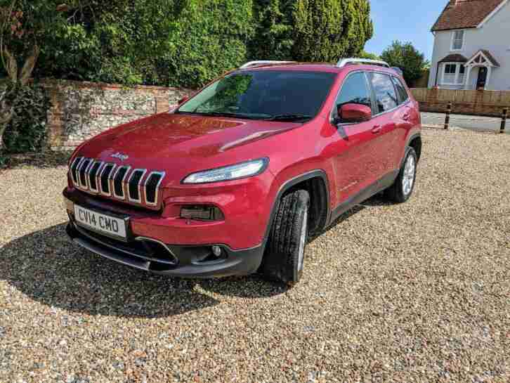 2015 15 JEEP GRAND CHEROKEE 3.0 V6 CRD OVERLAND 5D 247 BHP DIESEL