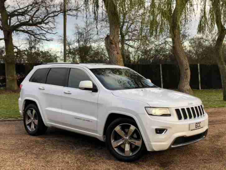 2015 15 JEEP GRAND CHEROKEE 3.0 V6 CRD OVERLAND 5D AUTO 247 BHP DIESEL