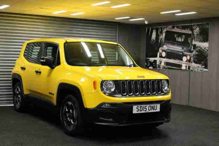 2015 15 Jeep Renegade 1.6MJet 120ps Sport Low Mileage Good Condition