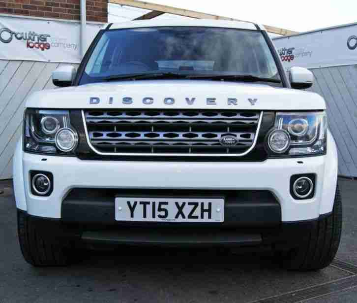 2012 Land Rover Discovery 4 For Sale: 2015 15 LAND ROVER DISCOVERY 3.0 SDV6 SE TECH 5D AUTO 255