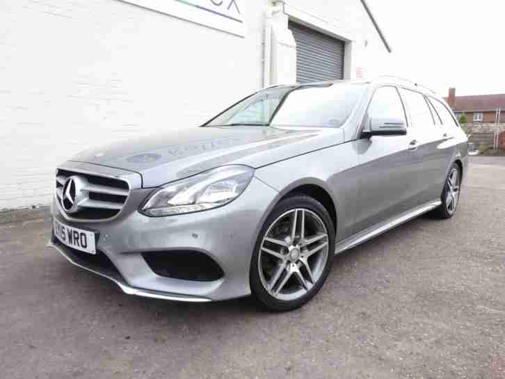 2015 15 REG MERCEDES E CLASS E220 AMG CDI DIESEL AUTO ESTATE DAMAGED SALVAGE