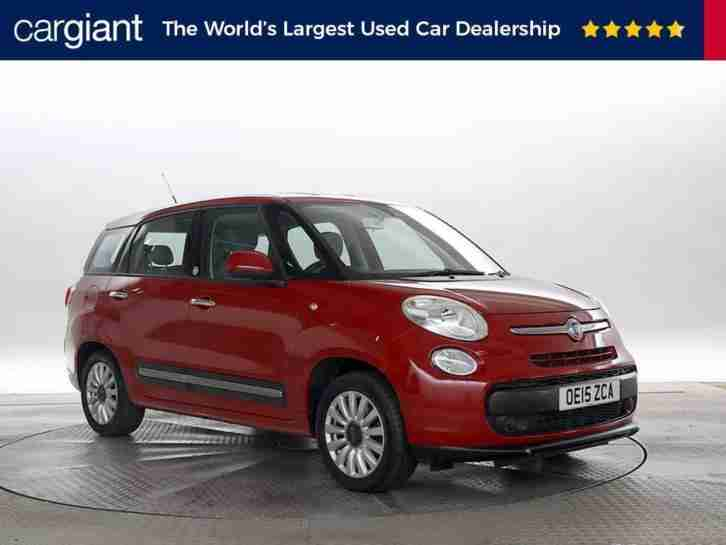 2015 (15 Reg) Fiat 500L 1.3 M Jet Pop Star Dualogic MPW Red MPV DIESEL AUTOMATIC