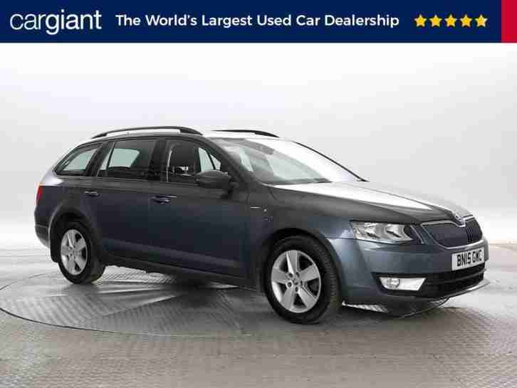 2015 (15 Reg) Skoda Octavia 1.6 TDi SE Business DSG Met Dk Grey ESTATE DIESEL AU