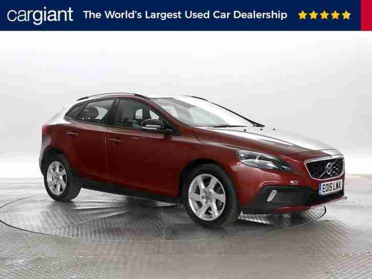 2015 (15 Reg) Volvo V40 1.6 D2 Cross Country Lux Powershift Flamenco Red 5 STAND