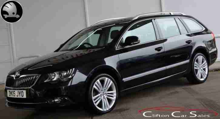 2015 15 SKODA SUPERB 2.0TDI ELEGANCE ESTATE DSG AUTO 5 DOOR 4X4 168 BHP DIESEL