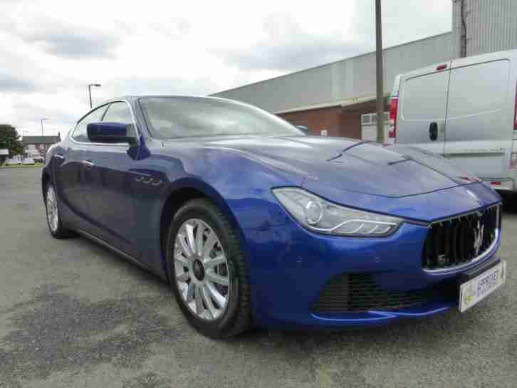 maserati 2015 15 plate ghibli 3 0td 275ps auto start stop warranty fsh. Black Bedroom Furniture Sets. Home Design Ideas