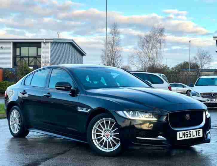 2015 65 Jaguar XE 2.0 TD R Sport 4dr + SAT NAV + LEATHER + £0 TAX