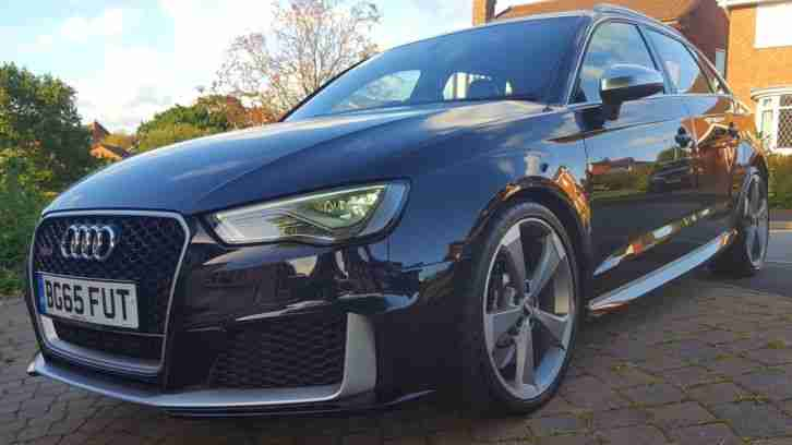 Audi RS3. Audi car from United Kingdom