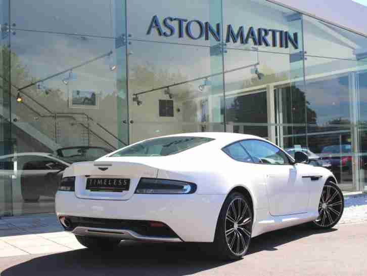2015 Aston Martin DB9 Carbon Petrol white Automatic
