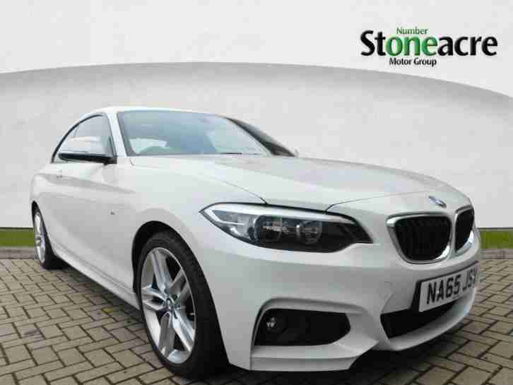 2015 BMW 2 Series 2.0 218d M Sport Coupe 2dr Diesel Manual (start stop)