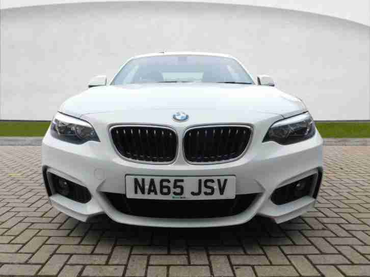2015 BMW 2 Series 2.0 218d M Sport Coupe 2dr Diesel Manual (start/stop)