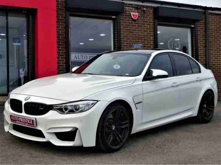 2015 BMW M3 3.0 ( 425bhp ) ( s s ) M DCT MINERAL WHITE 1 OWNER FROM NEW
