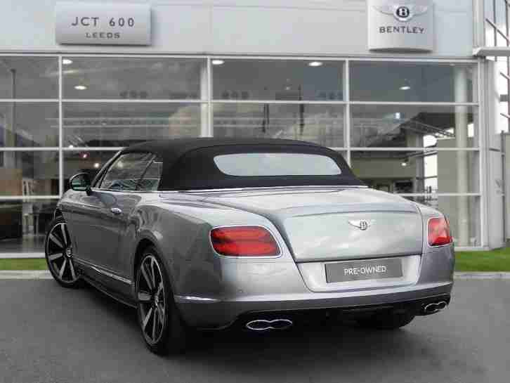 2015 Bentley Continental GTC 4.0 V8S Mulliner Driving Specification Automatic Co