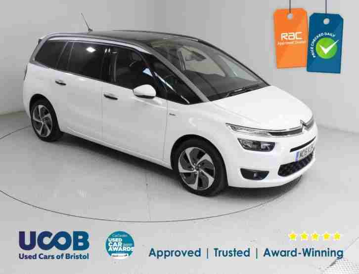 2015 CITROEN C4 GRAND PICASSO 2.0 BLUEHDI EXCLUSIVE+ 5DR MPV DIESEL