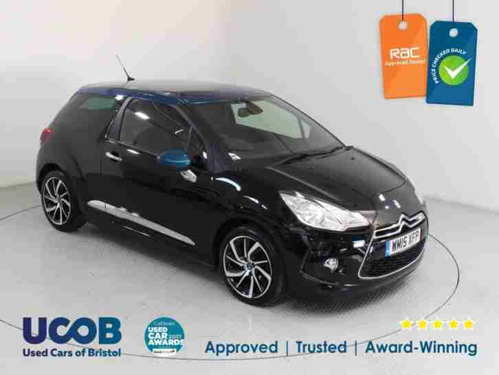 2015 CITROEN DS3 1.6 E HDI AIRDREAM DSTYLE PLUS 3DR HATCHBACK DIESEL