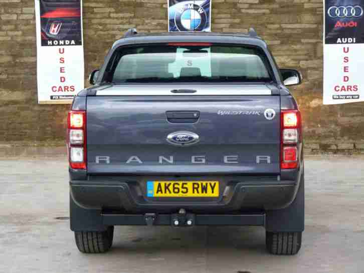 2015 FORD RANGER WILDTRAK 4X4 3.2 TDCI GREY Double Cab DAMAGED REPAIRED NO VAT