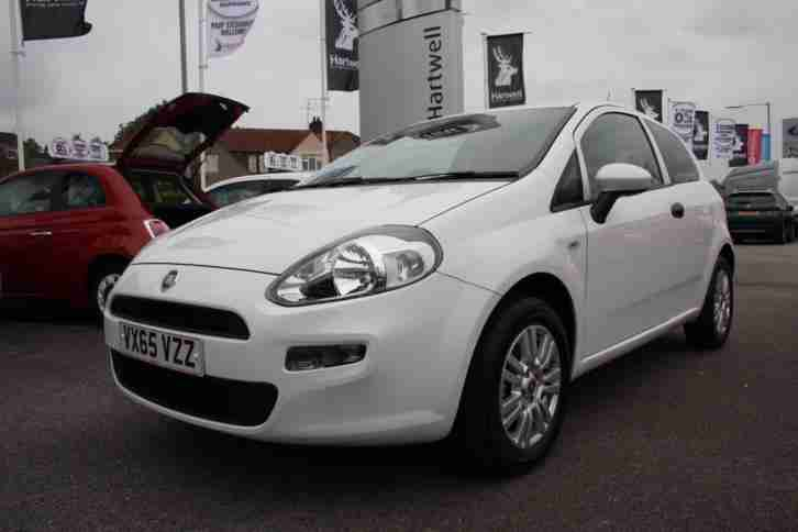2015 Fiat Punto Pop 1.2 69ps 3dr, 65 Reg, 1 Owner, Low Mileage, Radio/CD Player,