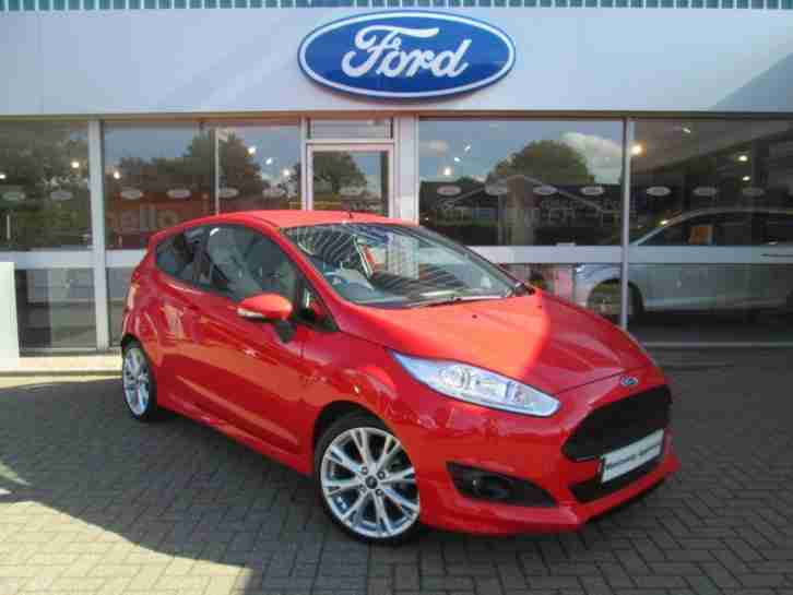 Ford Fiesta. Ford car from United Kingdom