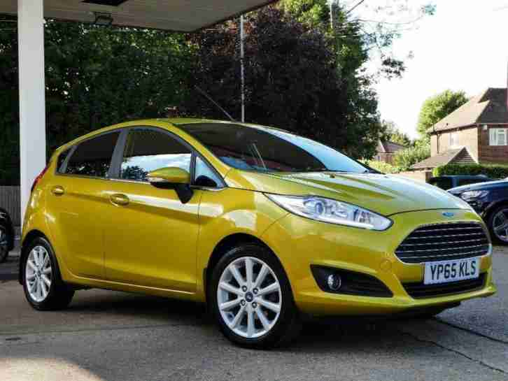 2015 Ford Fiesta 1.0 T EcoBoost Titanium (s s) 5dr