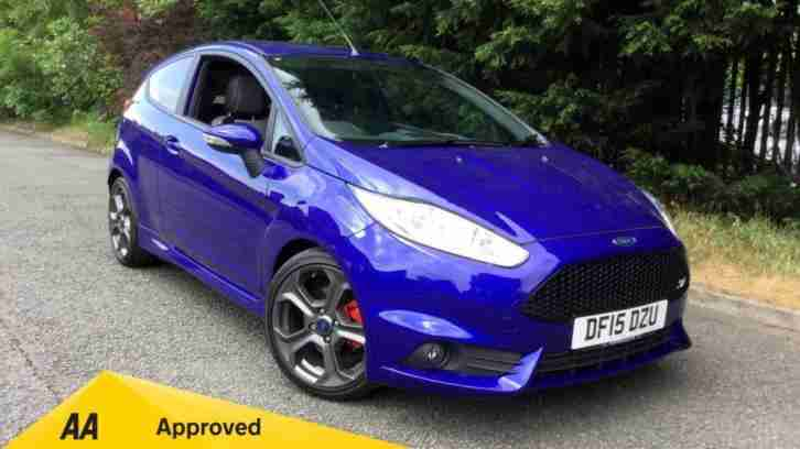 2015 Ford Fiesta 1.6 EcoBoost ST 2 3dr with Blu Manual Petrol Hatchback