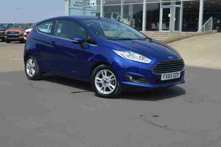 2015 Ford Fiesta Zetec, One Private Owner, Full Service History at Hartwell, Blu