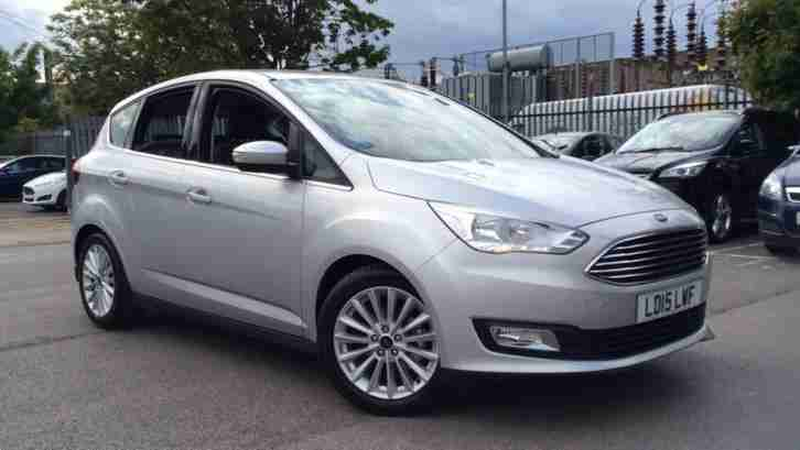 ford 2015 focus c max titanium manual diesel estate car for sale. Black Bedroom Furniture Sets. Home Design Ideas