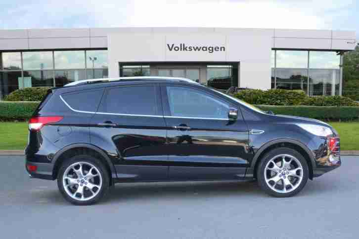 2015 Ford Kuga 2.0 TDCi Titanium (150 PS) 5-Door MPV Diesel black Manual