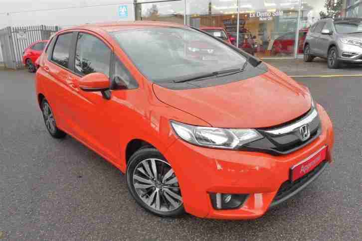 2015 Jazz 1.3 i VTEC EX Petrol orange