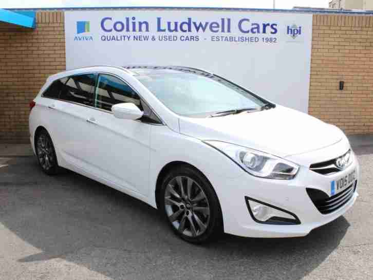 2015 Hyundai I40 CRDI PREMIUM | Full Service History | One Owner From New | Full