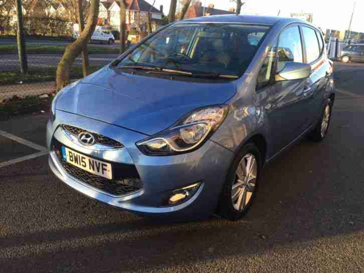 Hyundai Ix20. Hyundai car from United Kingdom