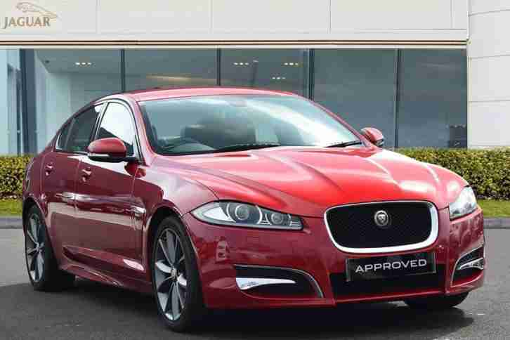2015 XF D R SPORT Diesel red Automatic