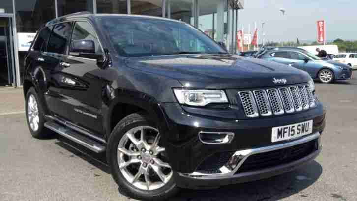 jeep 2015 grand cherokee 3 0 crd summit 5dr auto automatic diesel 4x4. Black Bedroom Furniture Sets. Home Design Ideas