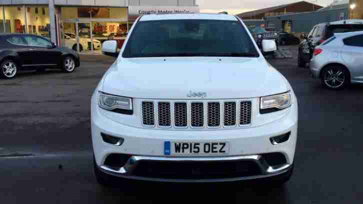 2015 Jeep Grand Cherokee 3.0 CRD Summit 5dr Automatic Diesel Estate