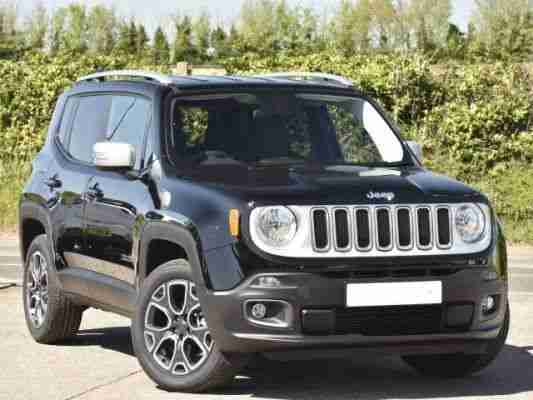 2015 Jeep Renegade 1.4 Multiair Limited 5dr Manual Petrol Hatchback