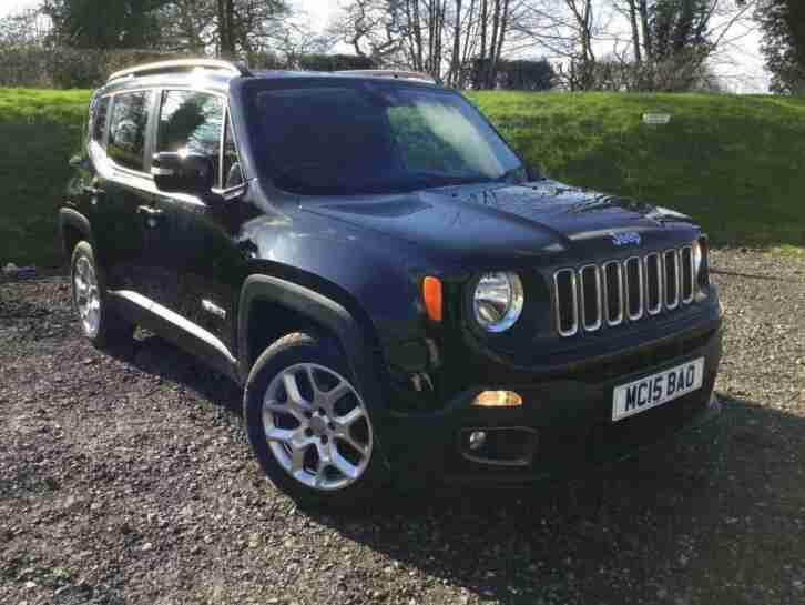 2015 Jeep Renegade 1.4T MultiAirII Longitude (s s) 5dr Petrol black Manual