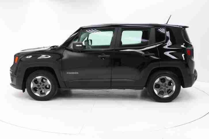 jeep 2015 renegade 1 6 e torq sport 5dr petrol black manual car for sale. Black Bedroom Furniture Sets. Home Design Ideas