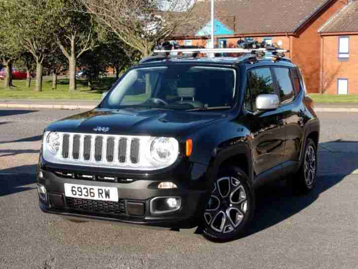 jeep 2015 renegade 1 6 mjet limited 5dr manual suv car for sale. Black Bedroom Furniture Sets. Home Design Ideas