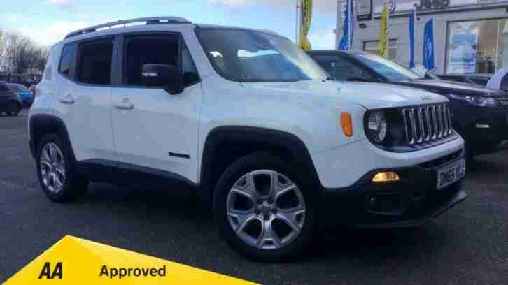 2015 Renegade 1.6 Multijet Limited 5dr