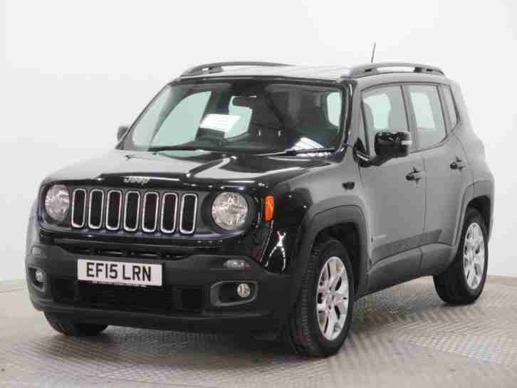 jeep 2015 renegade 1 6 multijet longitude 5dr diesel black manual. Black Bedroom Furniture Sets. Home Design Ideas