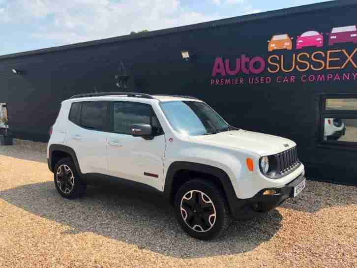 Jeep Renegade. Jeep car from United Kingdom
