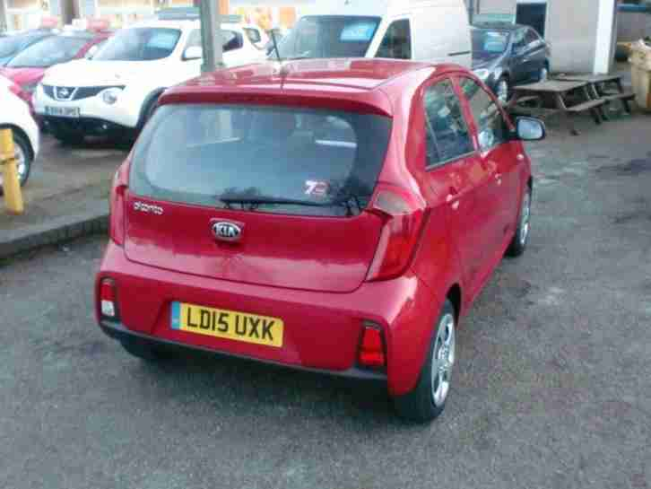 2015 Kia Picanto 1.0 1 Air 5dr 5 door Hatchback