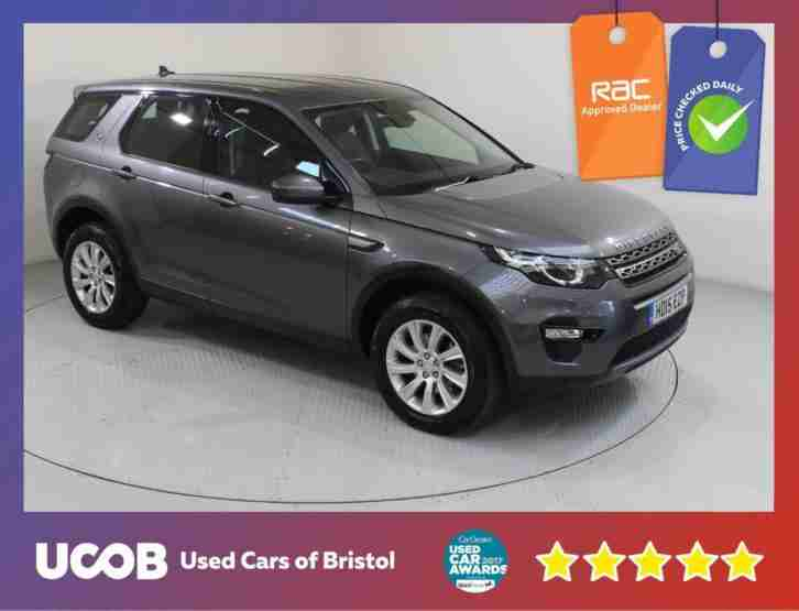 2015 LAND ROVER DISCOVERY SPORT 2.2 SD4 SE TECH 4X4 5DR ESTATE DIESEL
