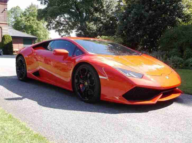 2015 Huracan LP 610 4 Petrol Red