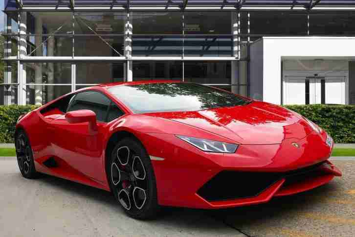Lamborghini 2015 Huracan Lp 610 4 Petrol Red Semi Auto Car For Sale