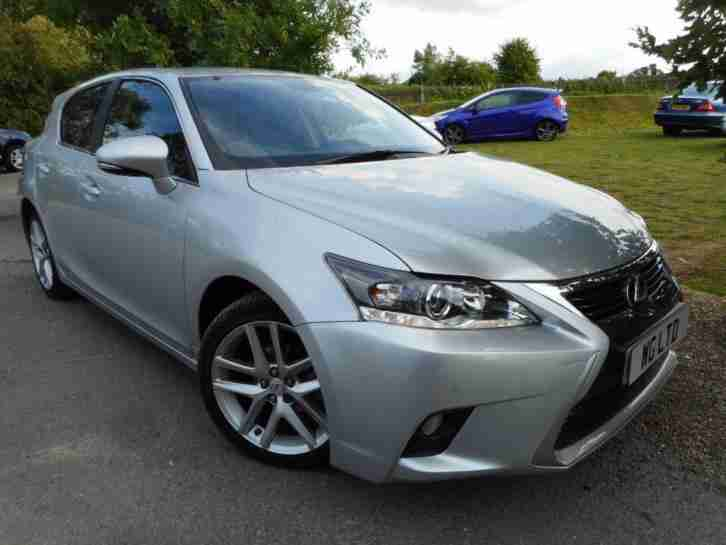 2015 Lexus CT 200h 1.8 Luxury 5dr CVT Auto Low Miles! Nav! Leather! 5 door H
