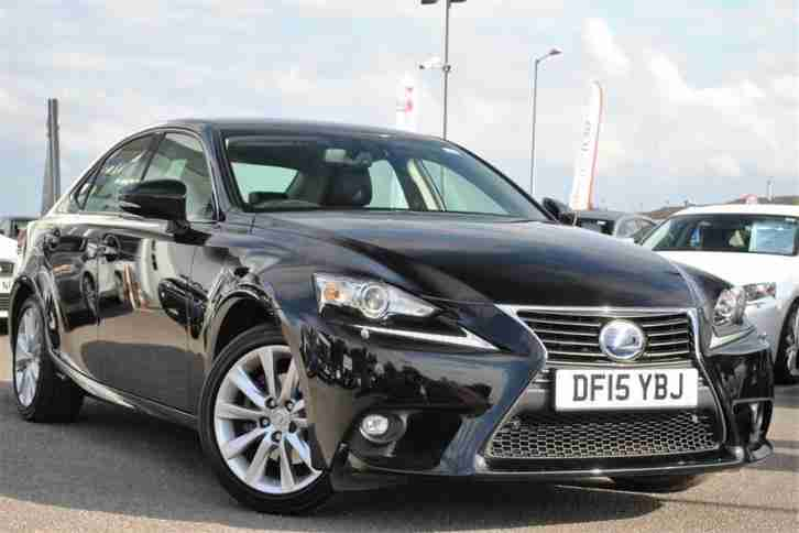 2015 Lexus IS 2.5 Executive PETROL/ELECTRIC black CVT